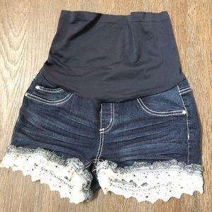Pants - Bella vida maternity shorts
